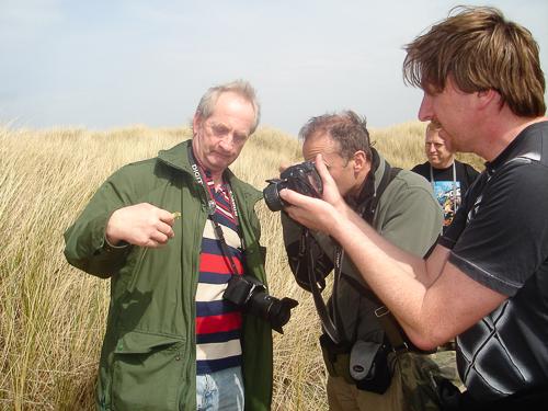 John Newton at Ainsdale, 2008.