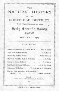 1929 Sorby Scientific Society greyscale
